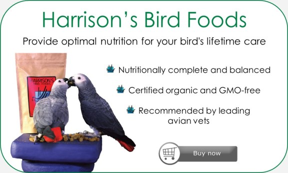 Harrison's Bird Foods advert